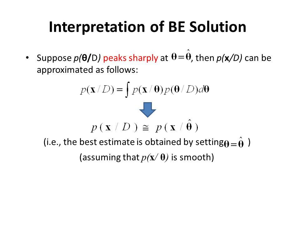 Interpretation of BE Solution