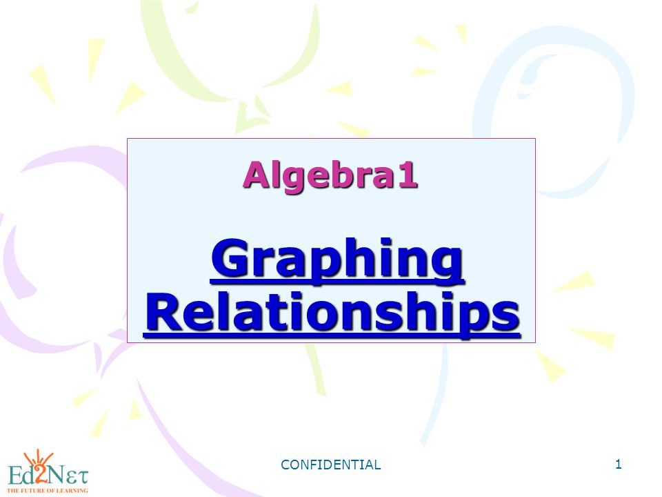 Algebra1 Graphing Relationships