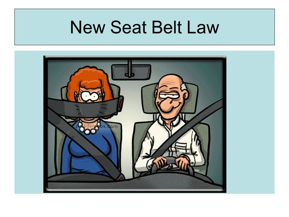 New Seat Belt Law