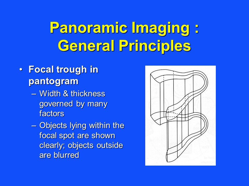 Panoramic Imaging : General Principles