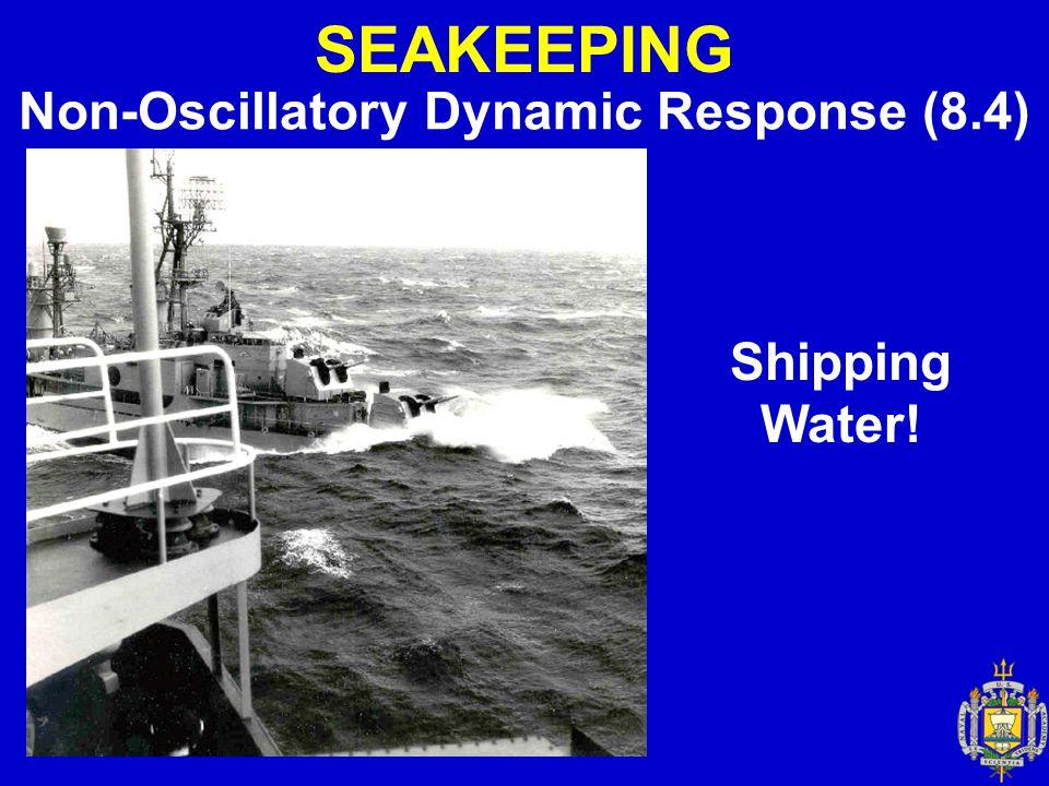 Non-Oscillatory Dynamic Response (8.4)