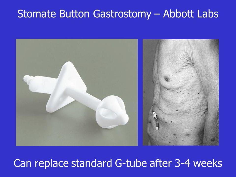 Stomate Button Gastrostomy – Abbott Labs