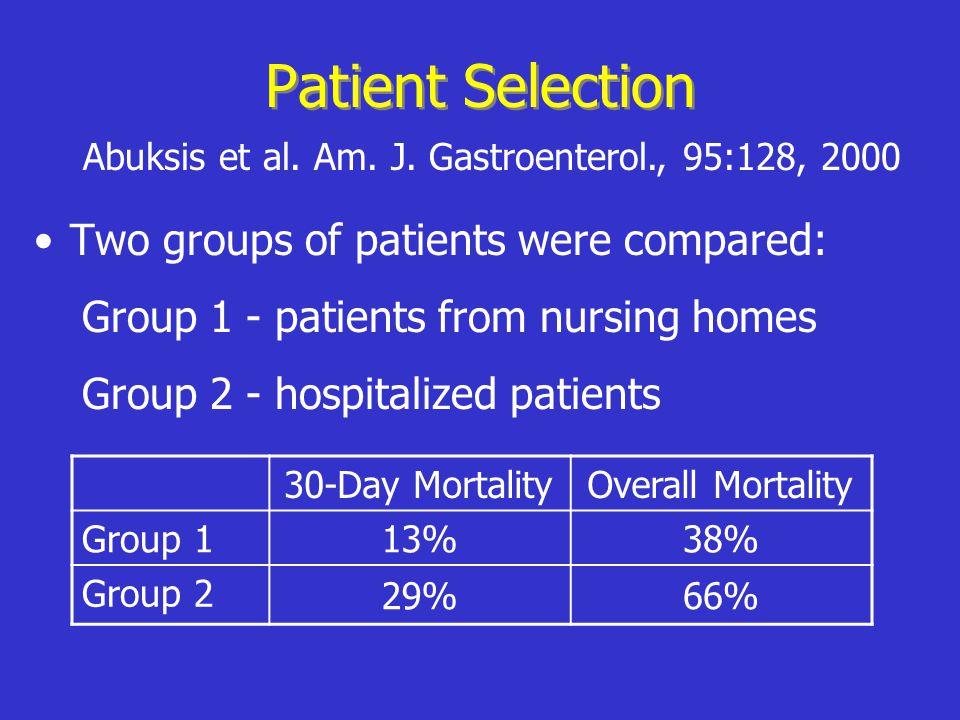 Abuksis et al. Am. J. Gastroenterol., 95:128, 2000