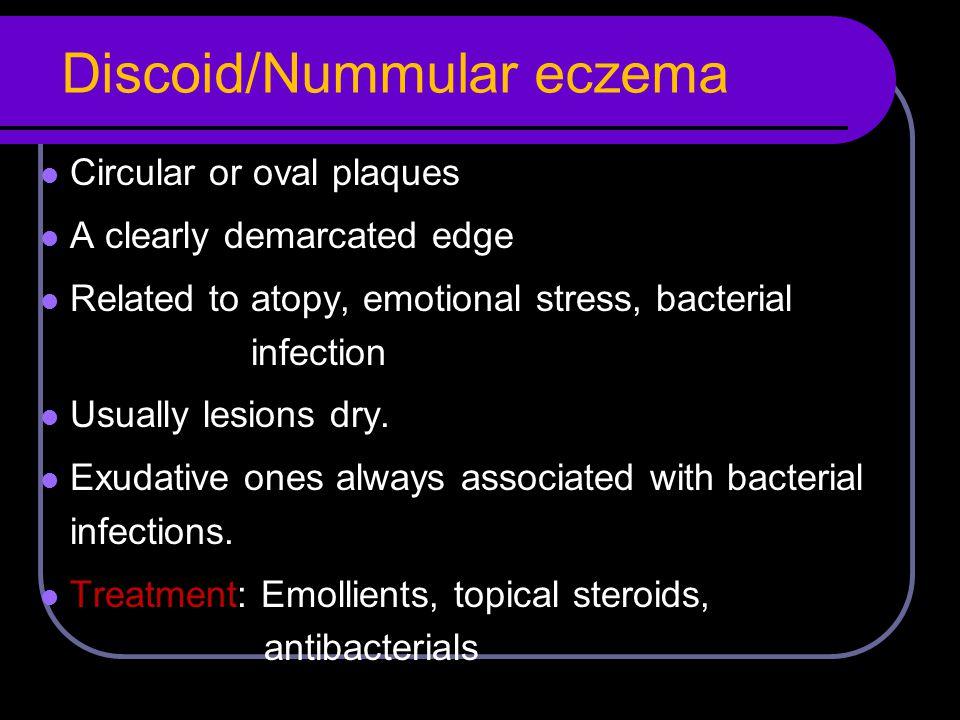 Discoid/Nummular eczema