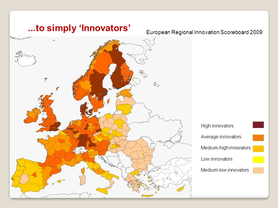 ...to simply 'Innovators'