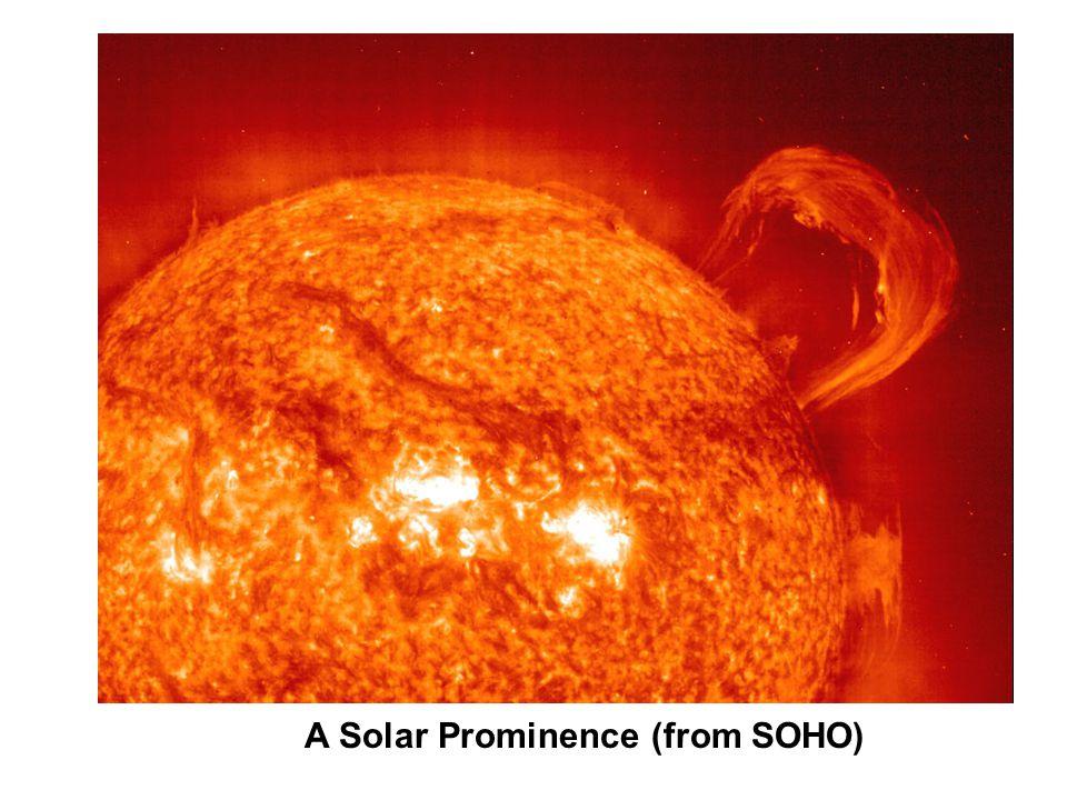 A Solar Prominence (from SOHO)