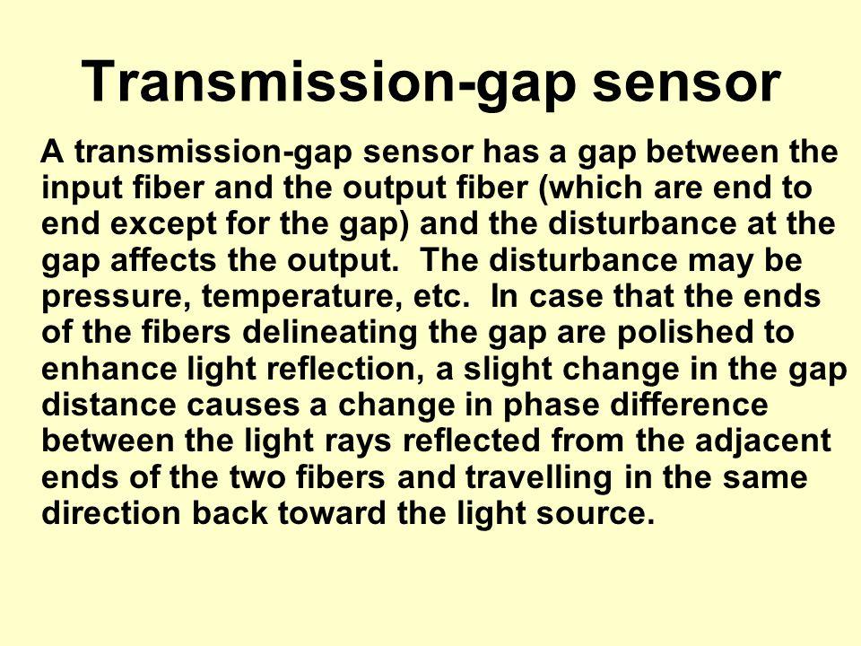 Transmission-gap sensor