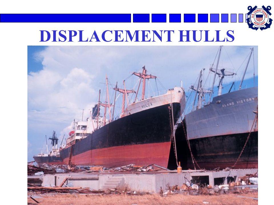 DISPLACEMENT HULLS