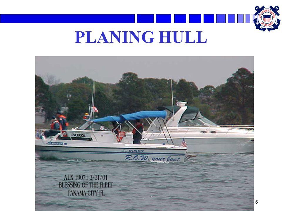 PLANING HULL
