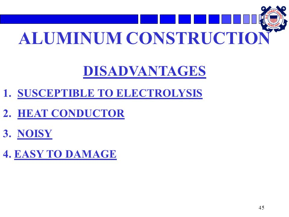 ALUMINUM CONSTRUCTION