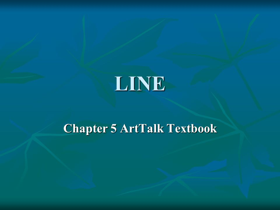 Chapter 5 ArtTalk Textbook