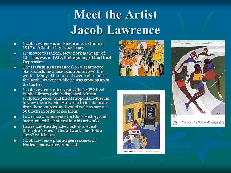 Meet the Artist Jacob Lawrence