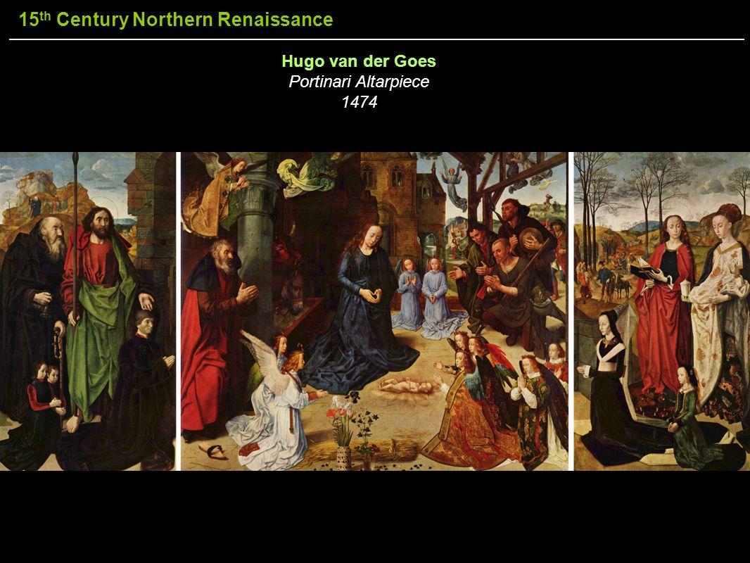 Hugo van der Goes Portinari Altarpiece 1474