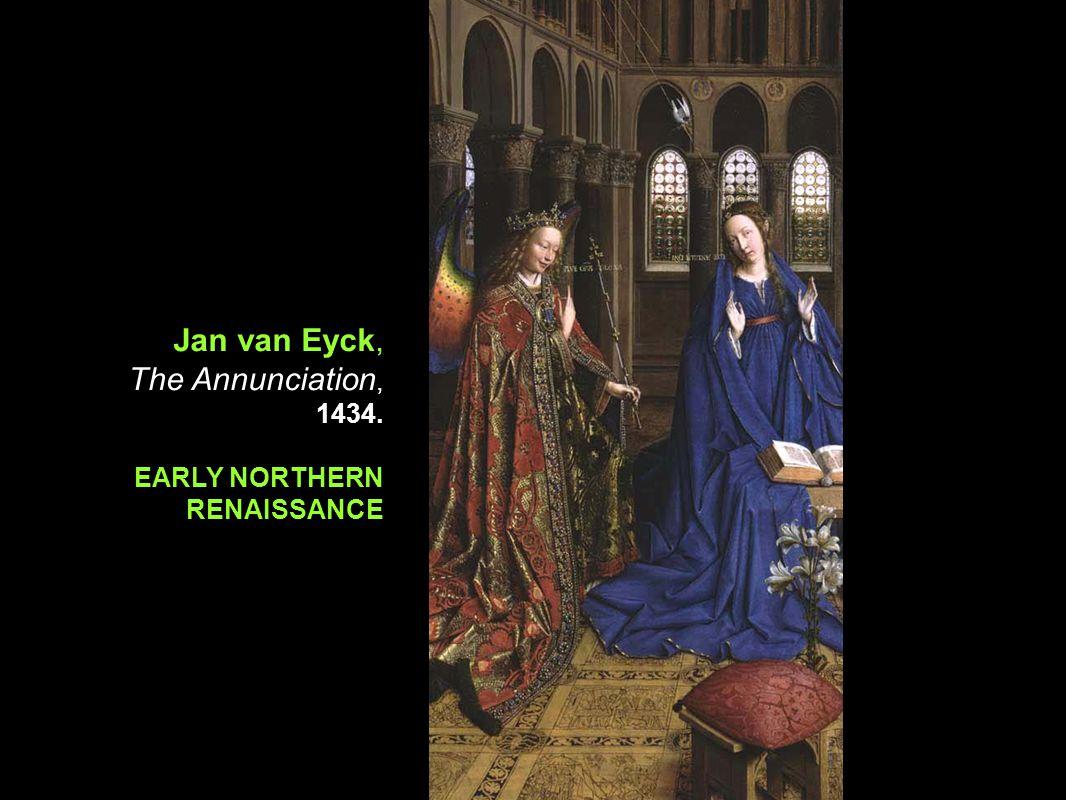 Jan van Eyck, The Annunciation, 1434.