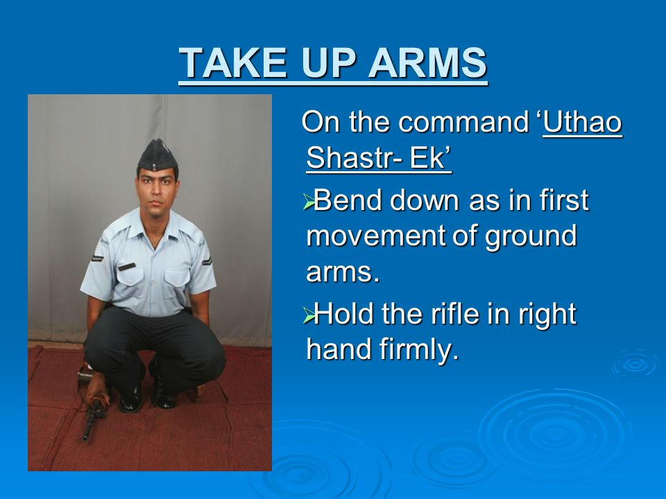 TAKE UP ARMS On the command 'Uthao Shastr- Ek'