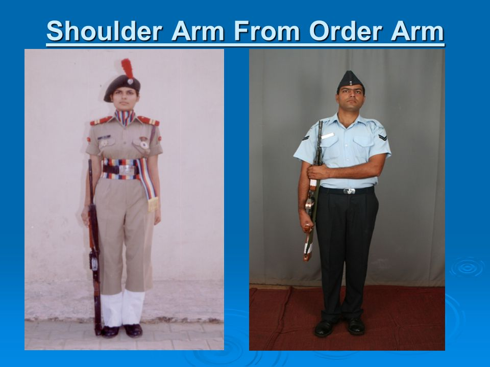 Shoulder Arm From Order Arm