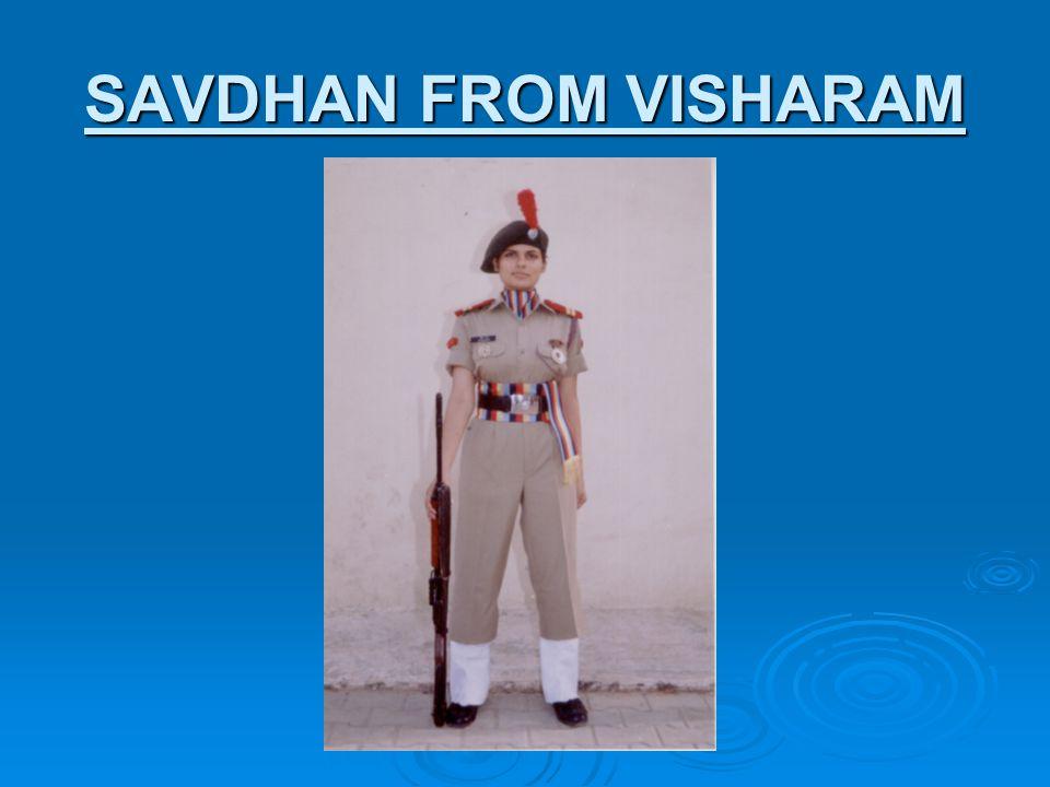 SAVDHAN FROM VISHARAM