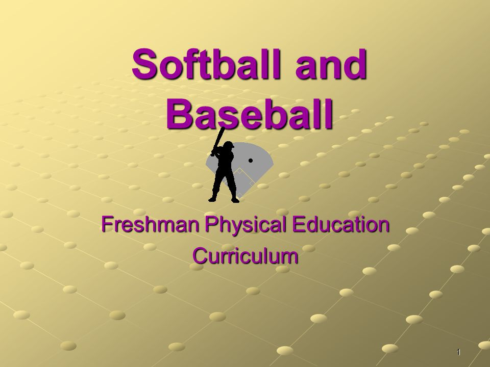 Freshman Physical Education Curriculum