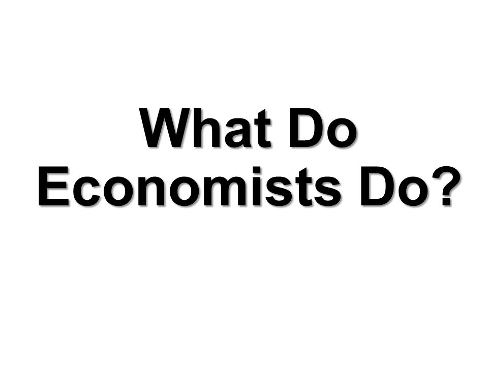 Observing and Explaining the Economy