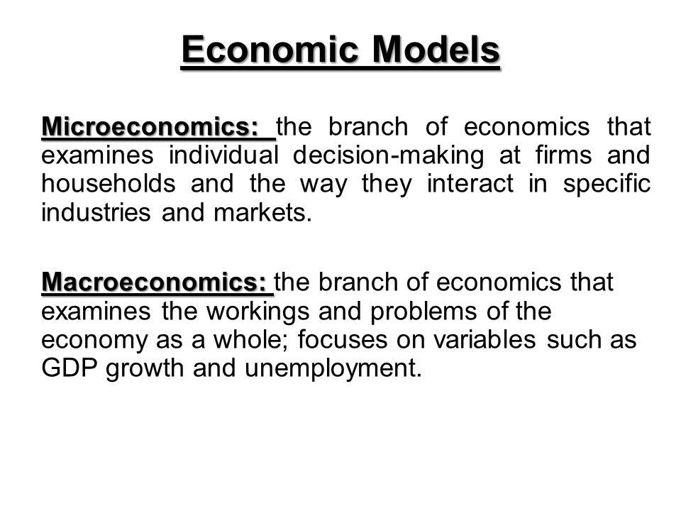 Economic Models