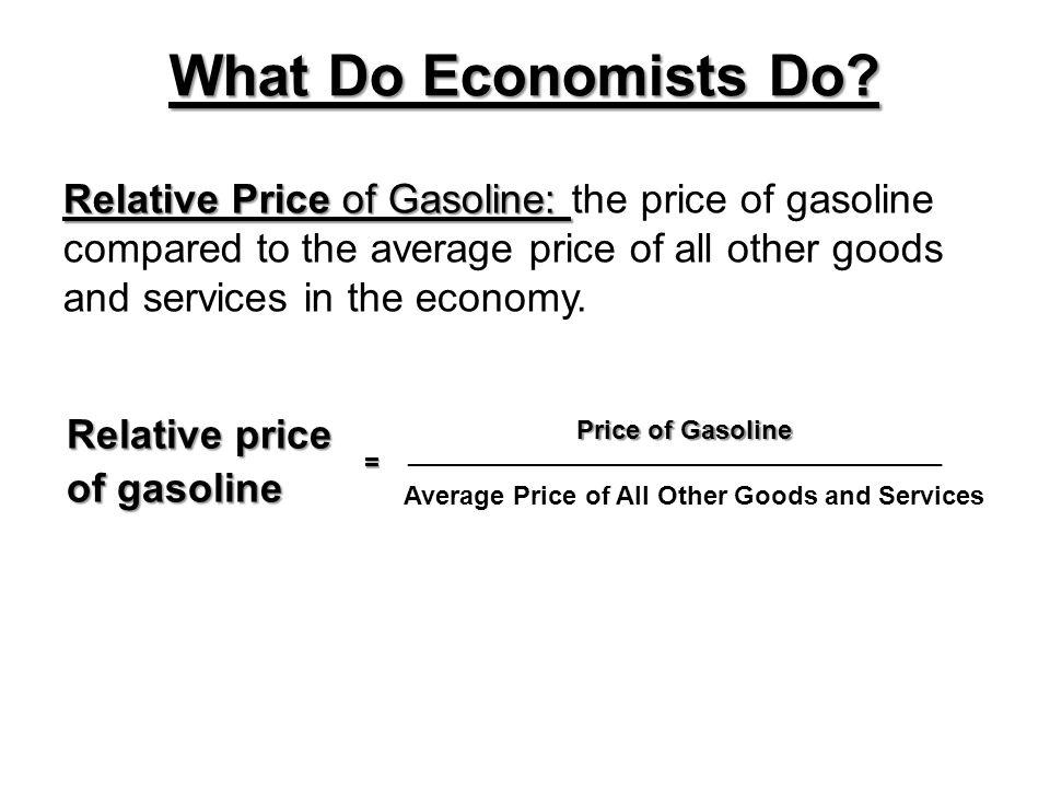 What Do Economists Do