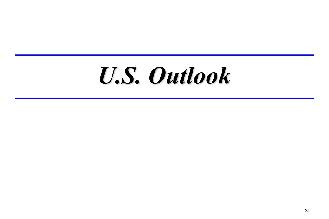 U.S. Outlook