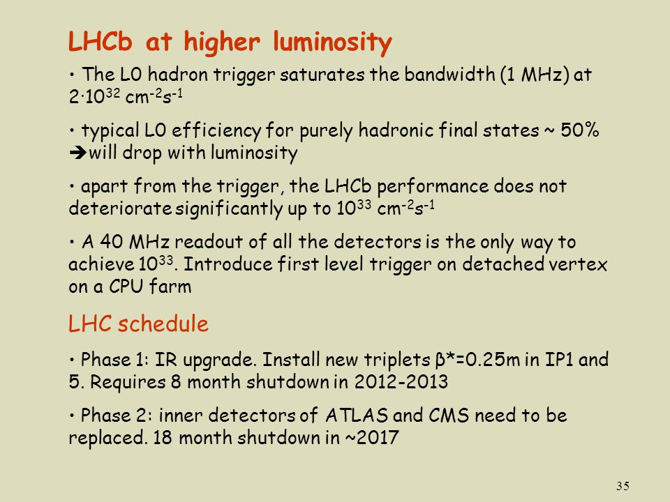 LHCb at higher luminosity