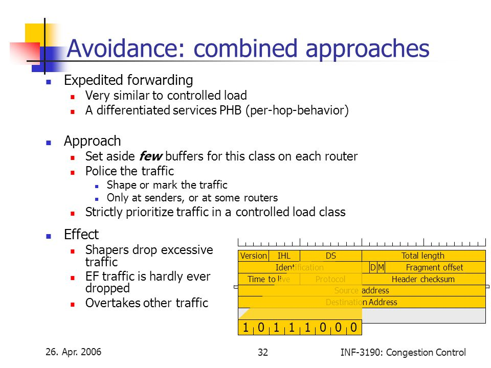 Avoidance: combined approaches