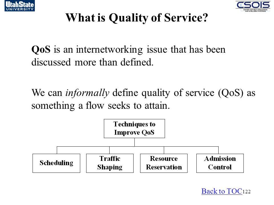 What is Quality of Service