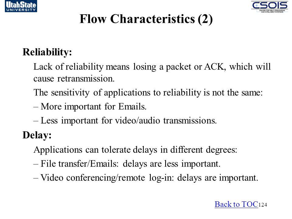 Flow Characteristics (2)