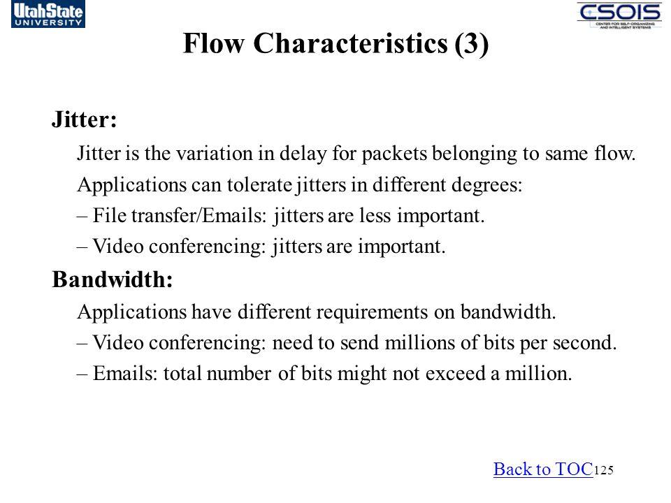 Flow Characteristics (3)