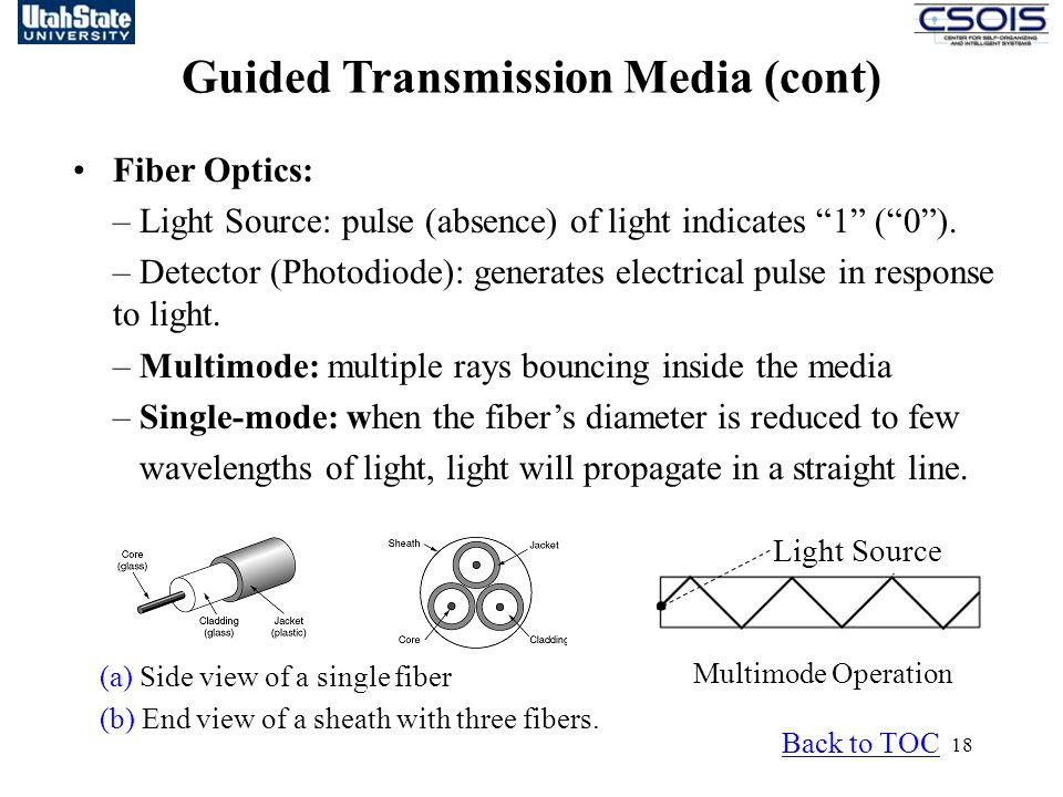 Guided Transmission Media (cont)