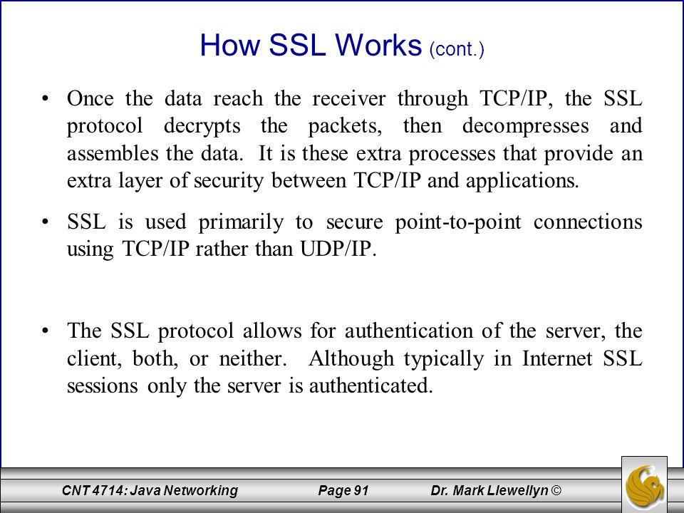 How SSL Works (cont.)