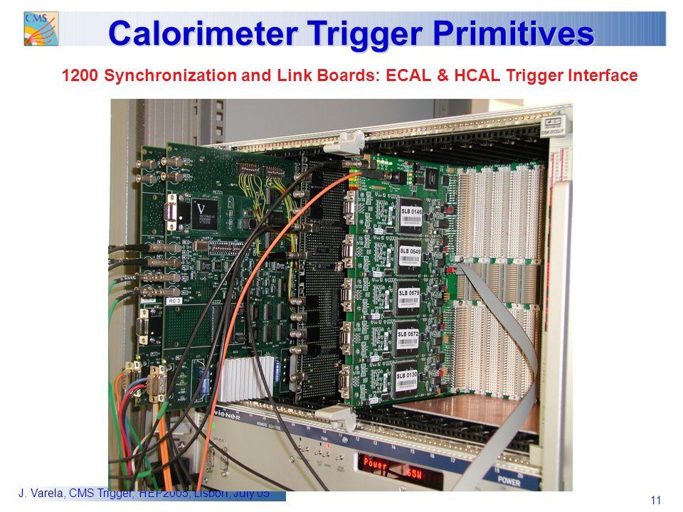 Calorimeter Trigger Primitives