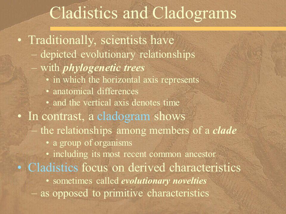Cladistics and Cladograms