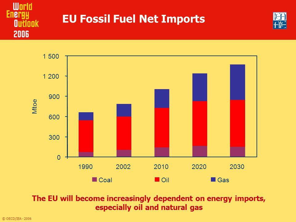EU Fossil Fuel Net Imports