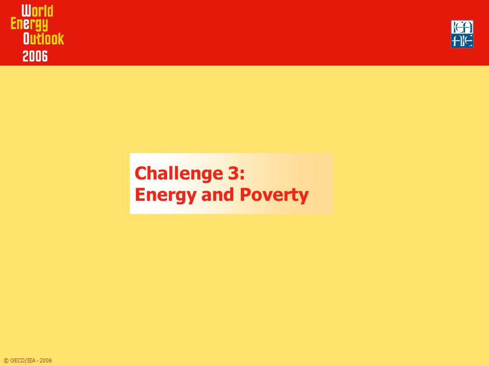 Challenge 3: Energy and Poverty
