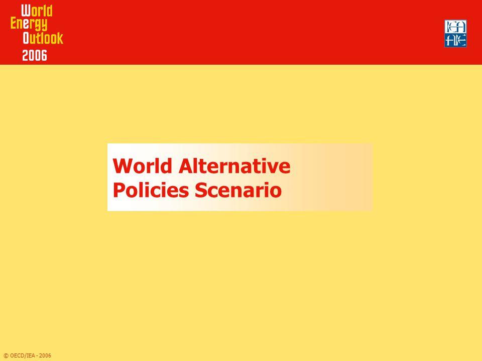 World Alternative Policies Scenario