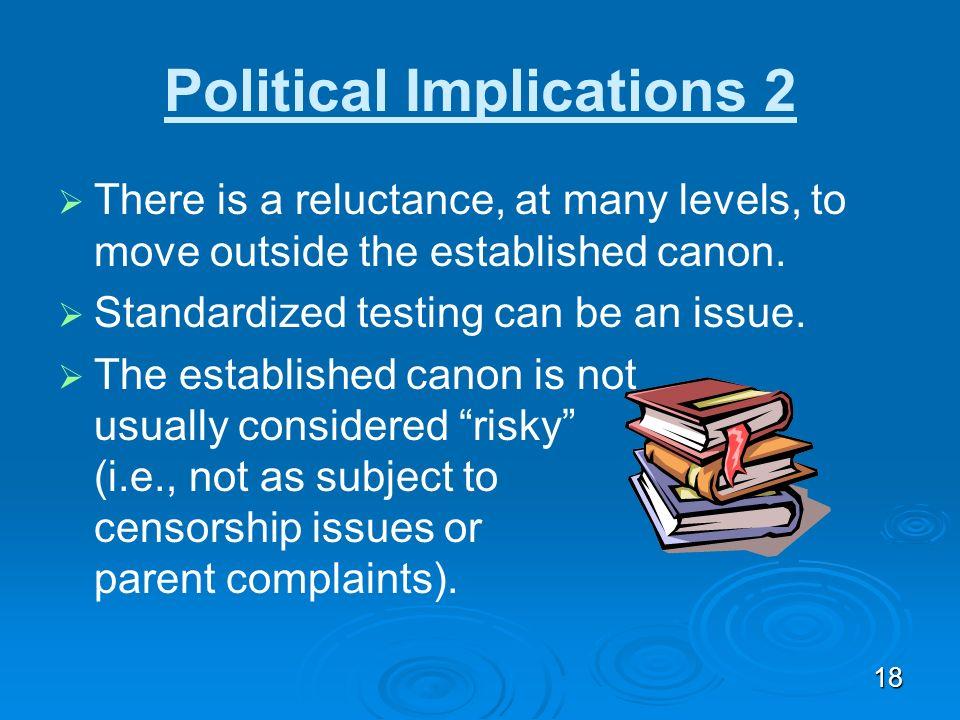 Political Implications 2