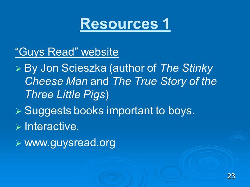 Resources 1 Guys Read website