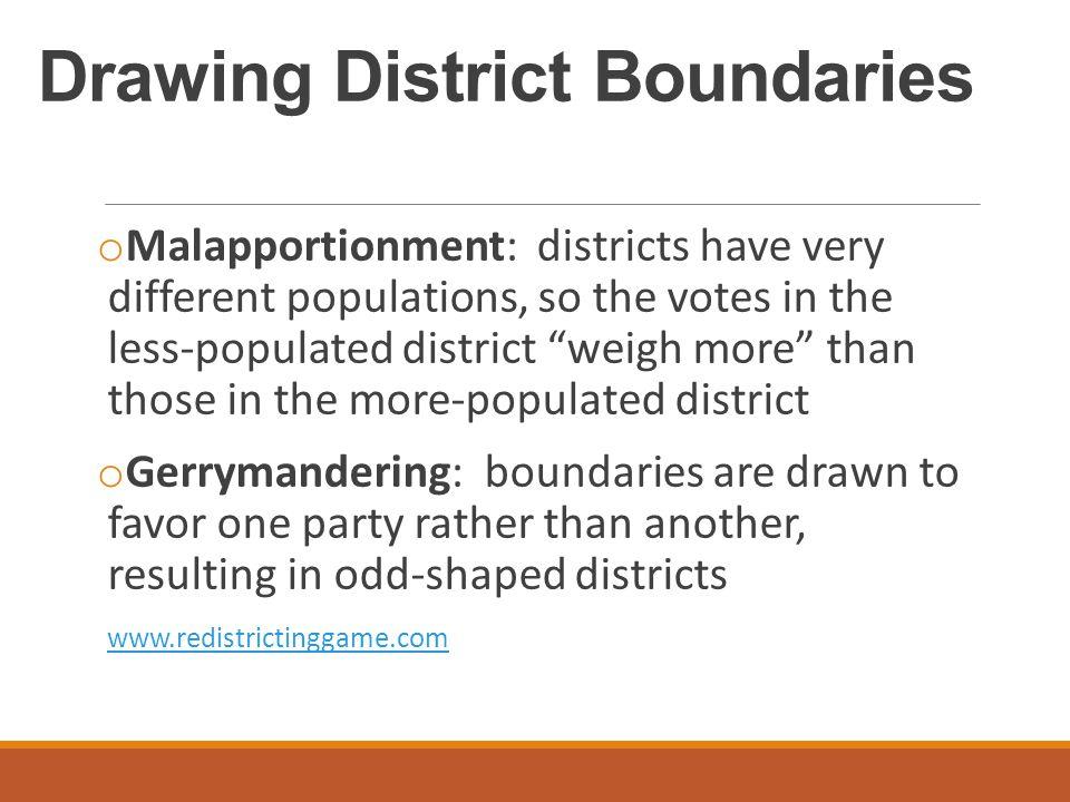 Drawing District Boundaries