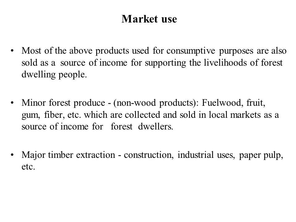 Market use