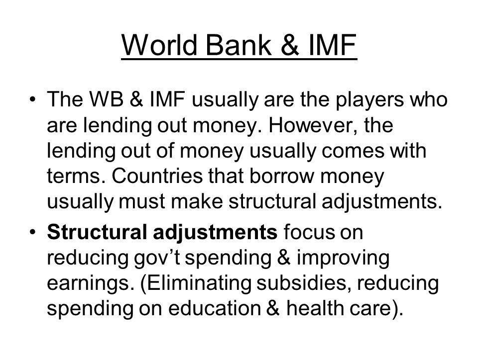 World Bank & IMF