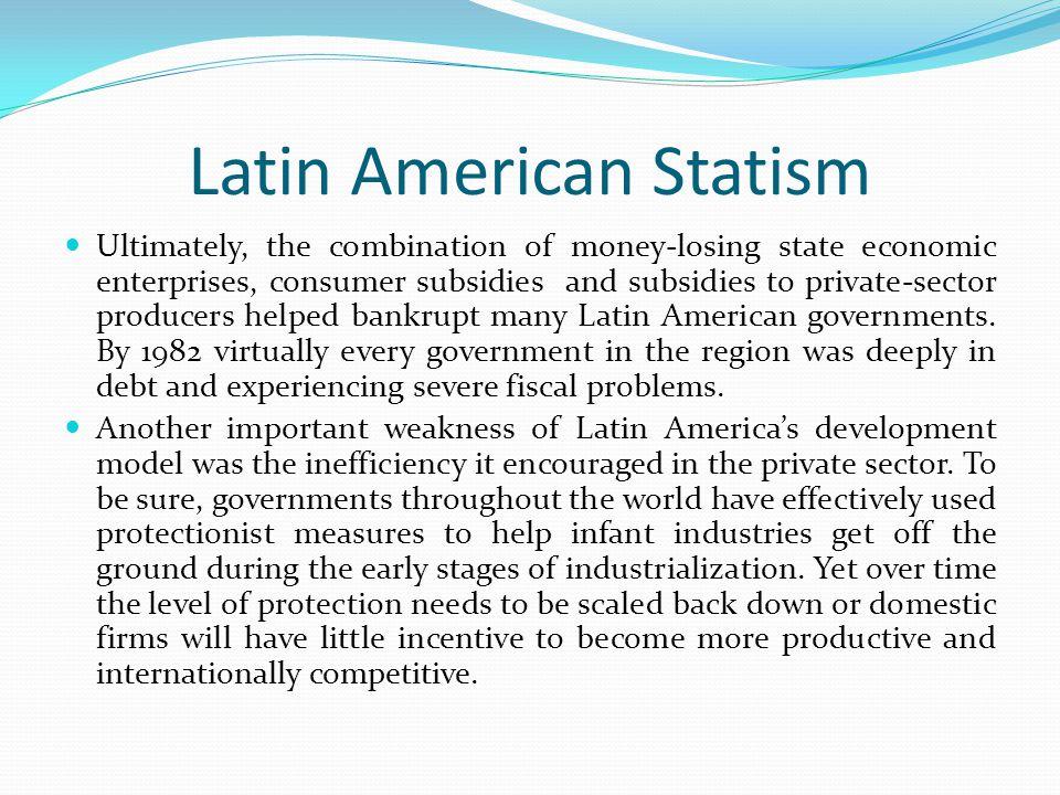 Latin American Statism
