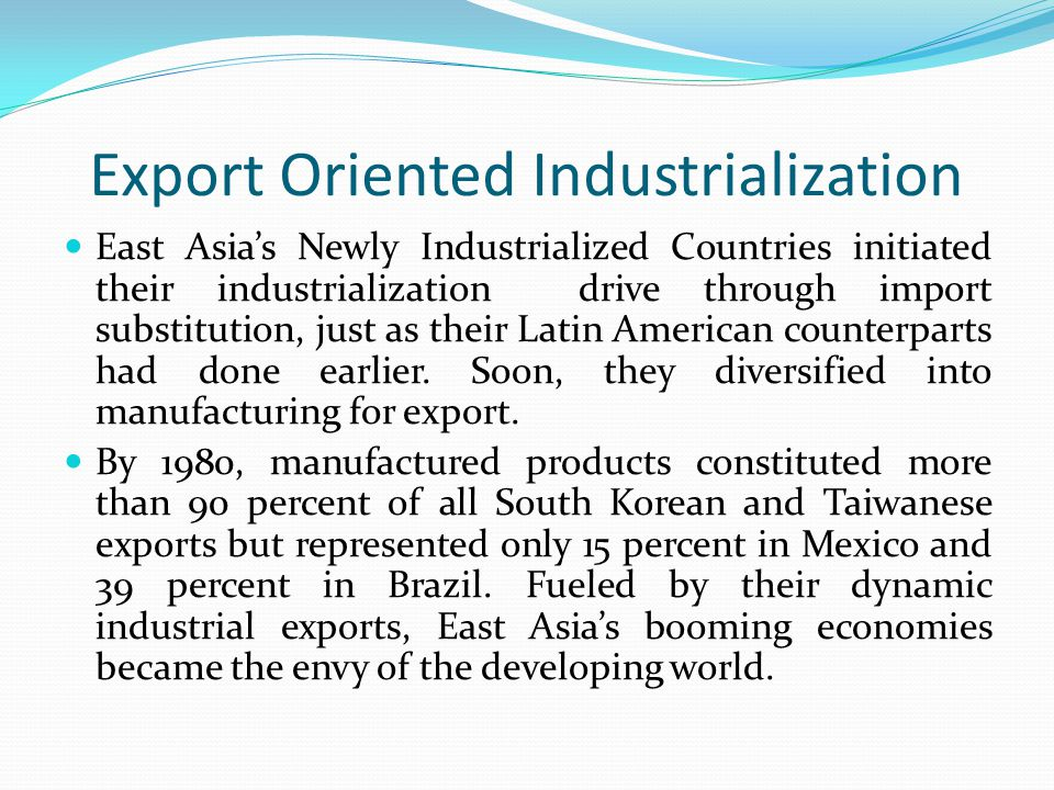Difference between Import Substitution and Export-Led Growth – Essay