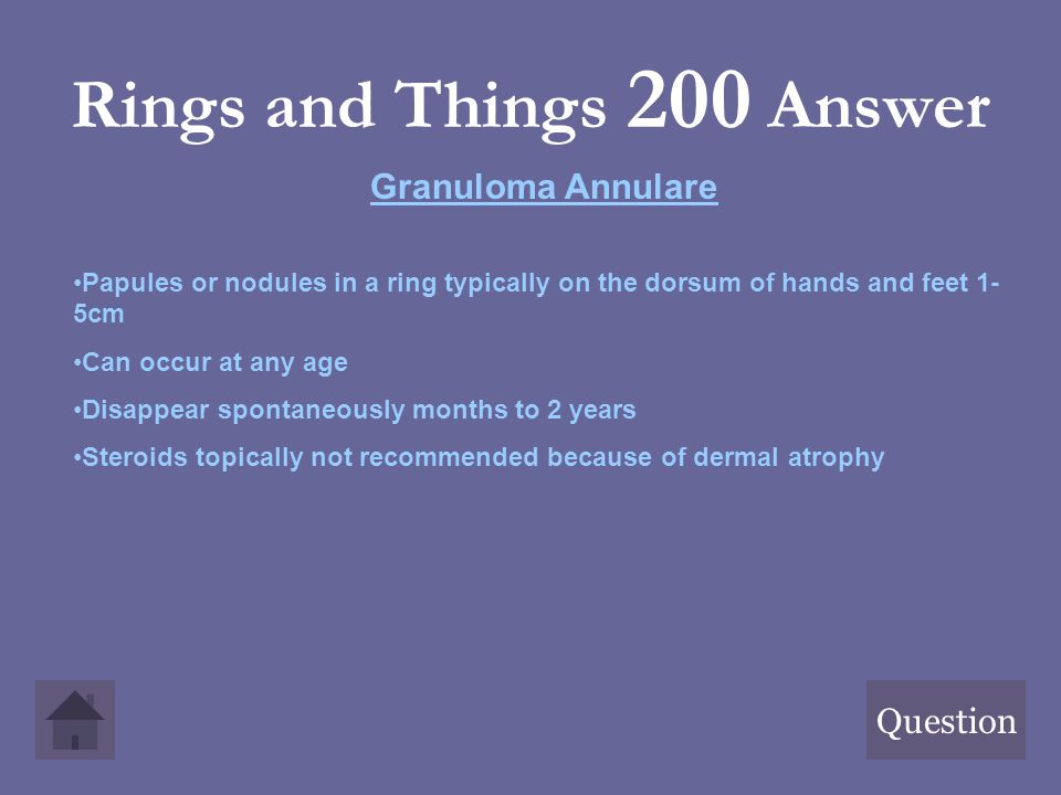 Rings and Things 200 Answer