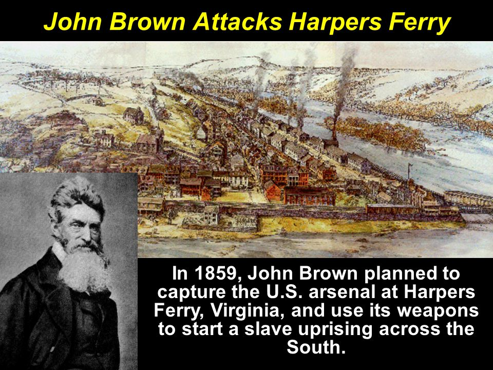 John Brown Attacks Harpers Ferry