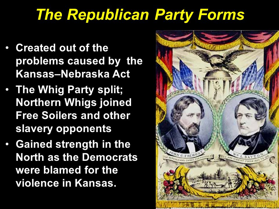 The Republican Party Forms