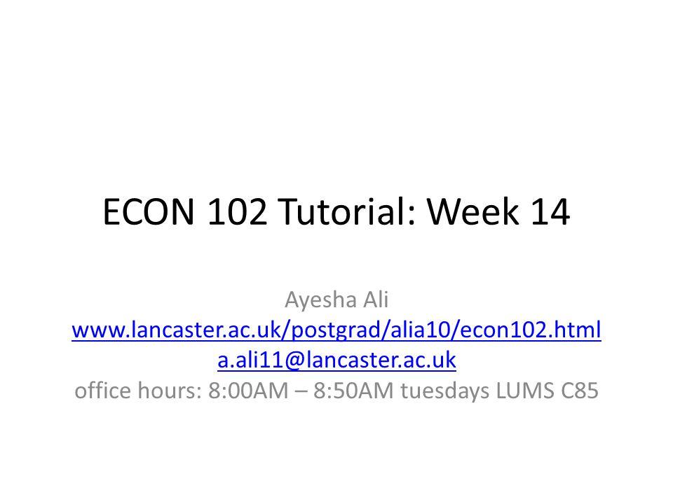 office hours: 8:00AM – 8:50AM tuesdays LUMS C85
