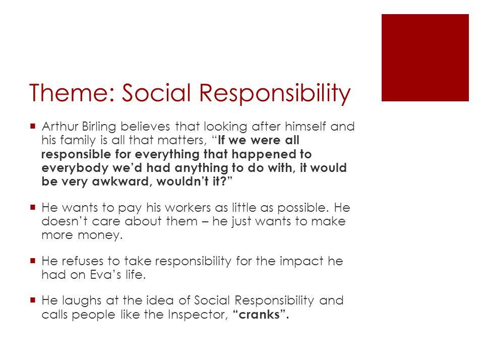 Theme: Social Responsibility